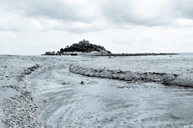 Costa de Cornualles imagen de archivo libre de regalías