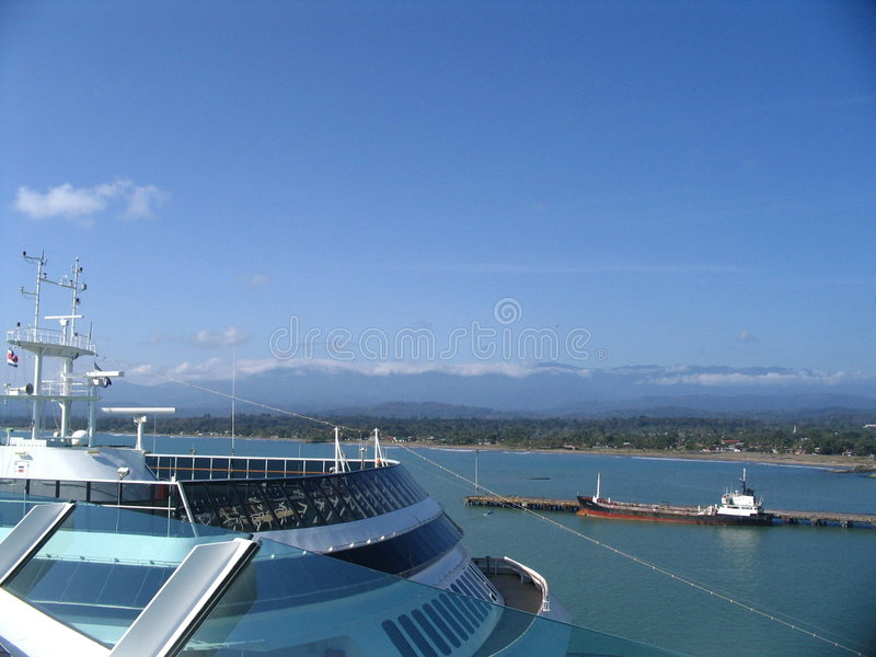Costa de Costa-Rica imagens de stock royalty free