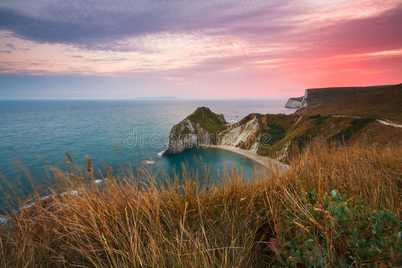 Costa de Dorset, Reino Unido foto de stock royalty free
