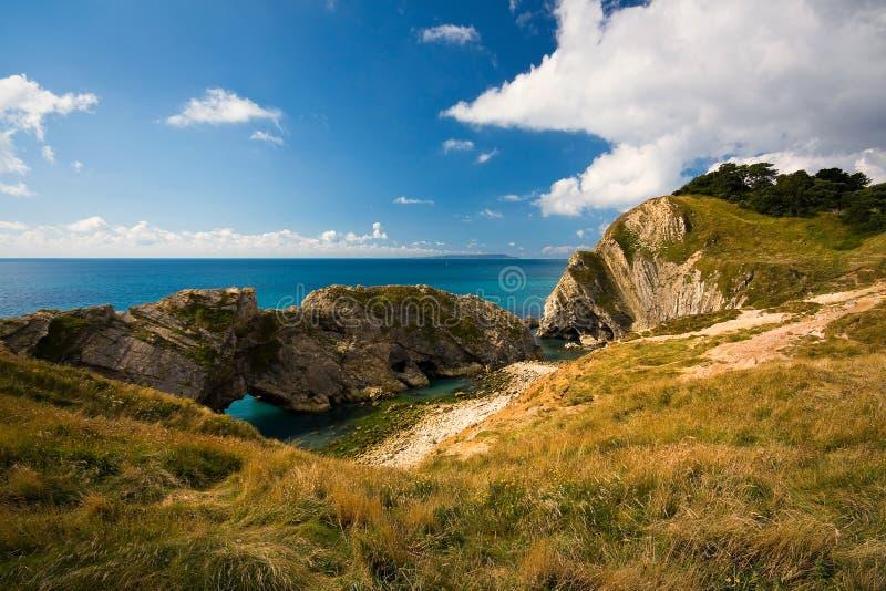 Costa de Dorset, Reino Unido imagens de stock royalty free