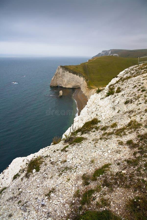 Costa de Dorset, Reino Unido fotografia de stock