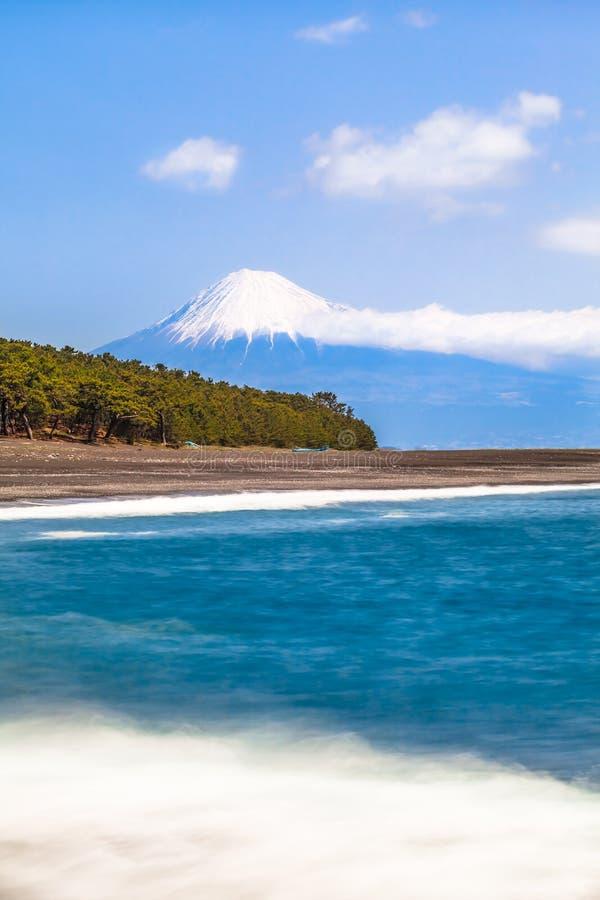 Costa de Fuji-San y de Shizuoka imágenes de archivo libres de regalías