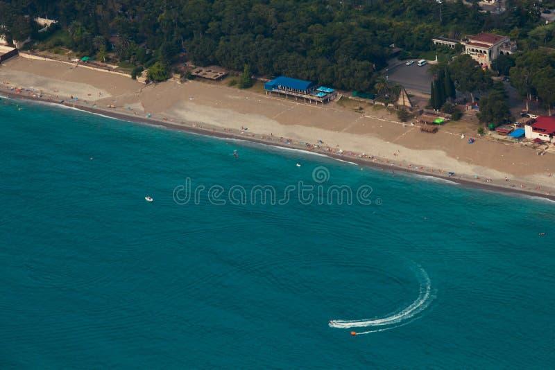 Costa de Gagra imagens de stock