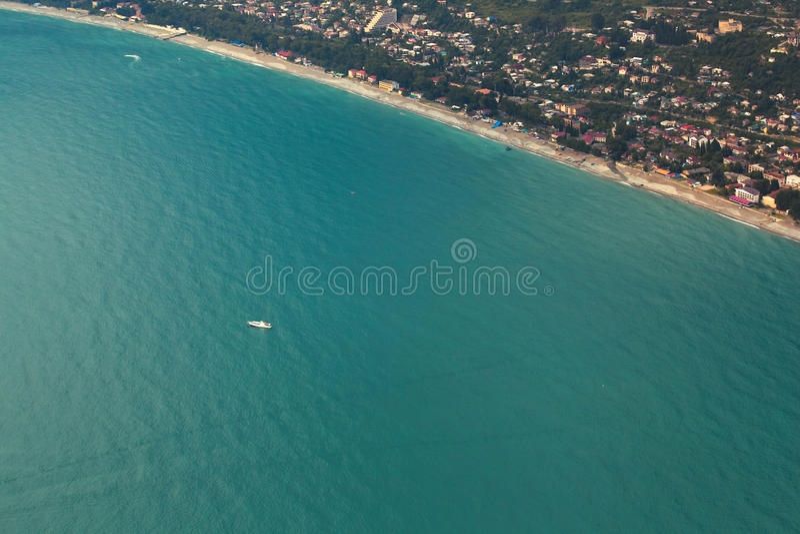 Costa de Gagra fotografia de stock royalty free