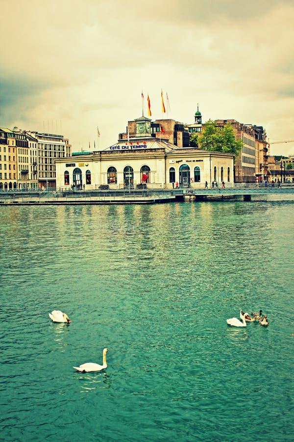 Costa de Ginebra imagen de archivo libre de regalías