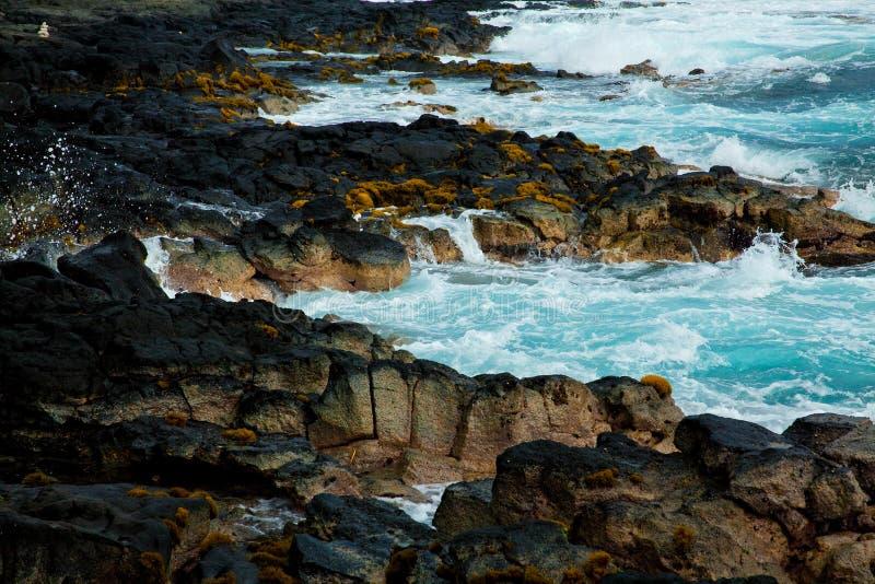 Costa de Hawaii fotografía de archivo libre de regalías