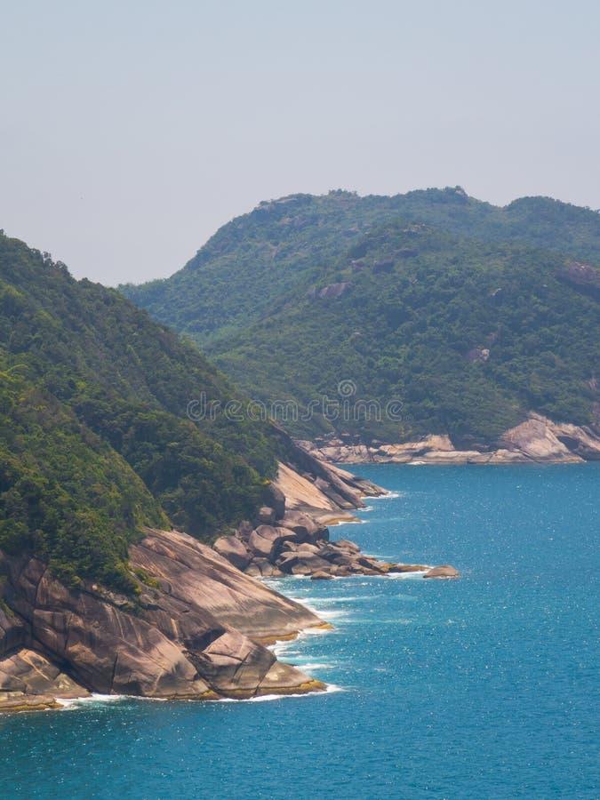 Costa de Joatinga foto de stock