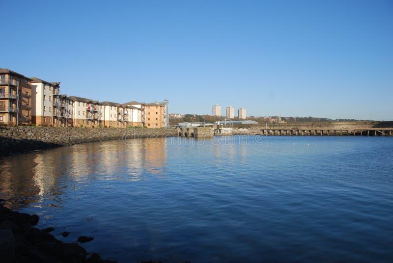 Costa de Kirkcaldy imagens de stock royalty free