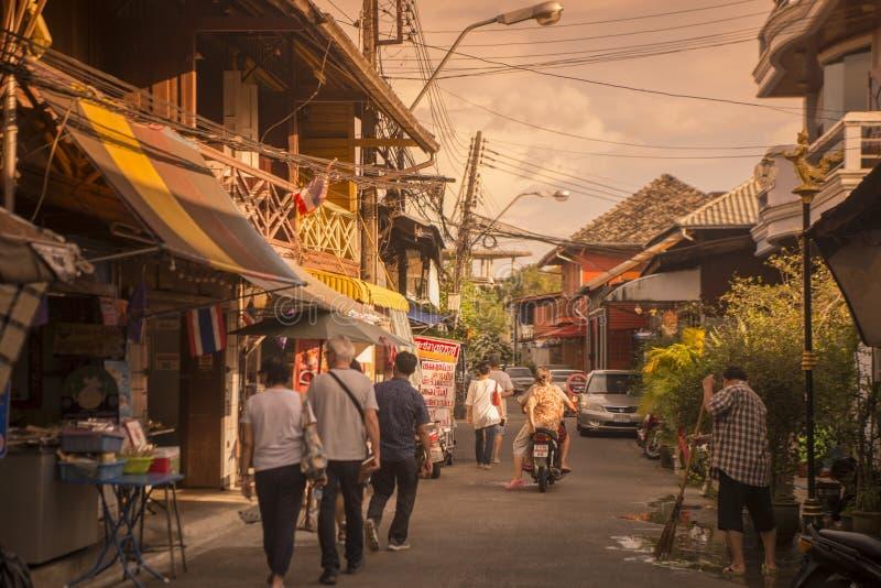 COSTA DE LA CIUDAD DE TAILANDIA CHANTHABURI imágenes de archivo libres de regalías
