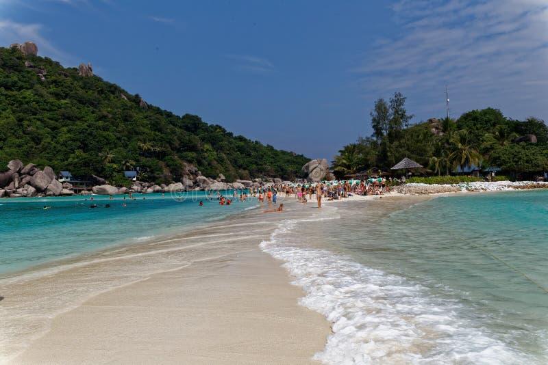 Costa de la isla de Tao, Tailandia foto de archivo libre de regalías