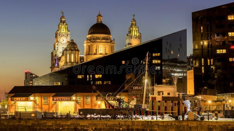 Costa de las tolerancias de Liverpool 3 foto de archivo libre de regalías