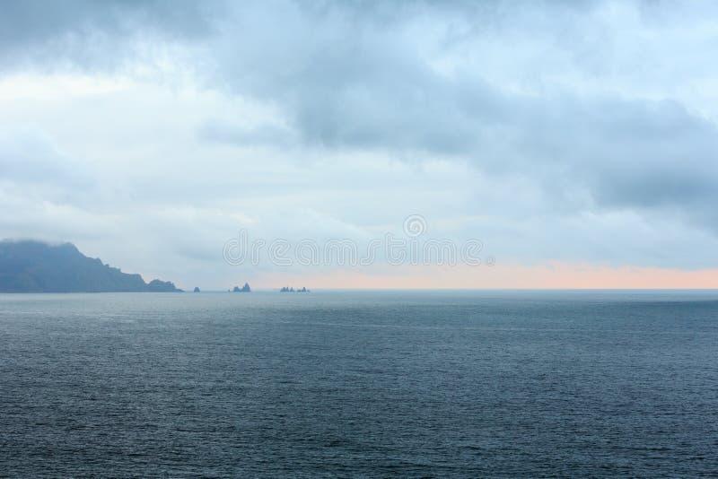 Costa de Loiba Asturias, España imagen de archivo libre de regalías