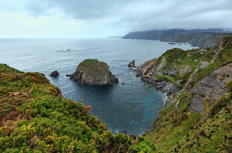 Costa de Loiba Asturias, Spain. royalty free stock image
