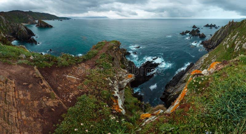 Costa de Loiba Asturias, Spanje royalty-vrije stock afbeeldingen