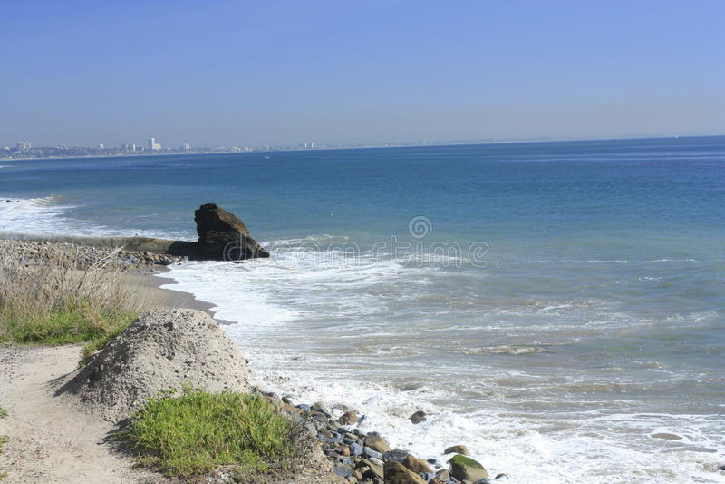 Costa de Malibu fotos de stock
