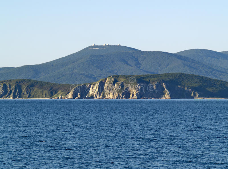 Download Costa de mar foto de stock. Imagem de baía, costa, água - 12807442