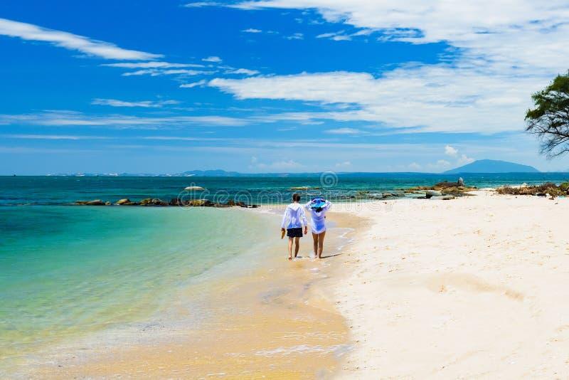 A costa de mar dois vai fotografia de stock royalty free