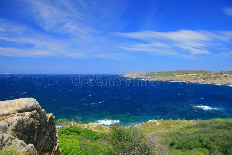 Costa de mar en Cerdeña fotos de archivo libres de regalías
