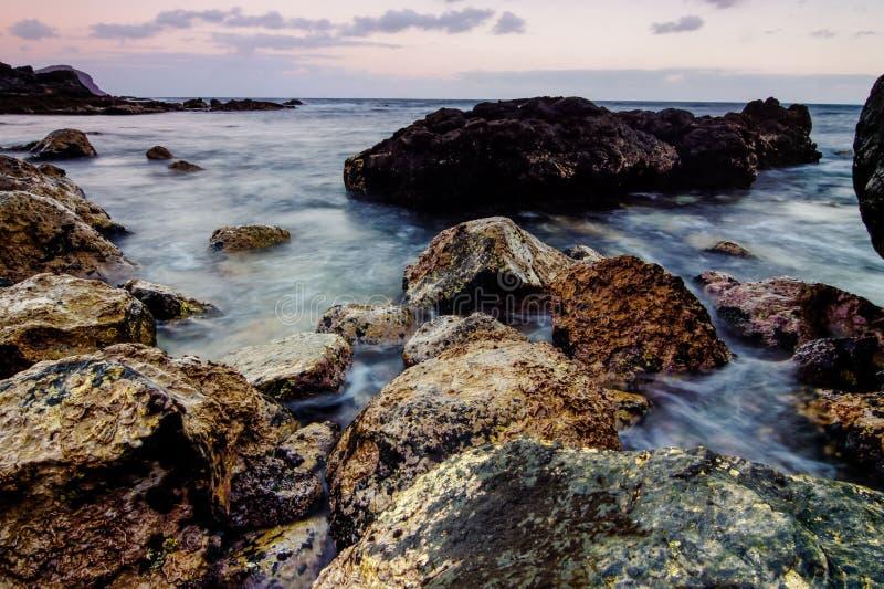 Costa de mar en Tenerife imagen de archivo