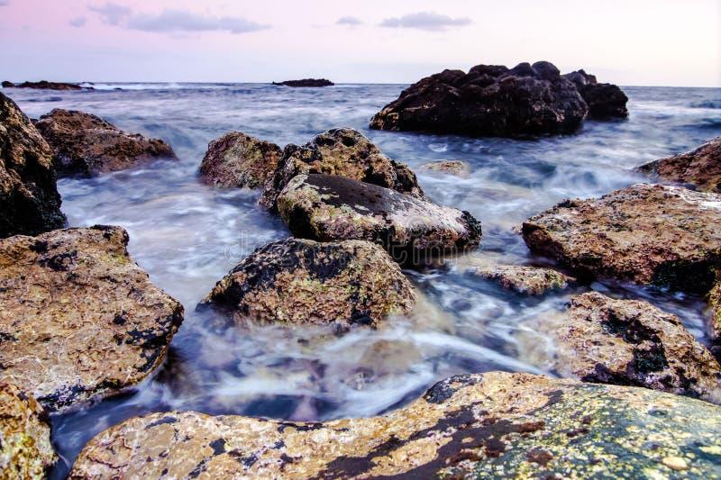 Costa de mar en Tenerife fotos de archivo libres de regalías