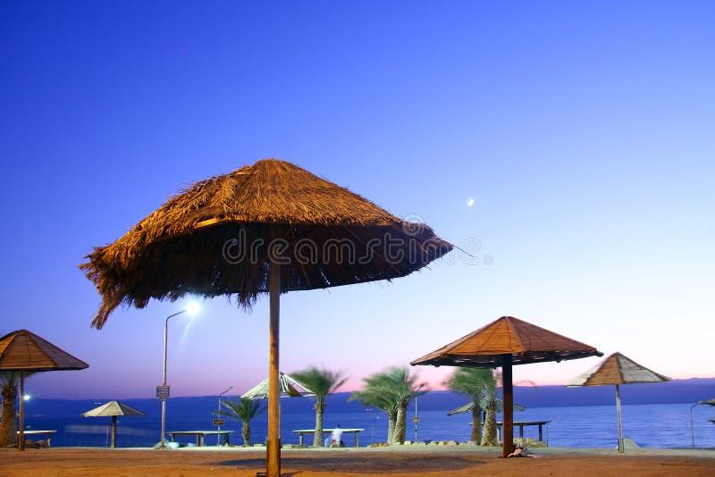 Costa de mar inoperante foto de stock