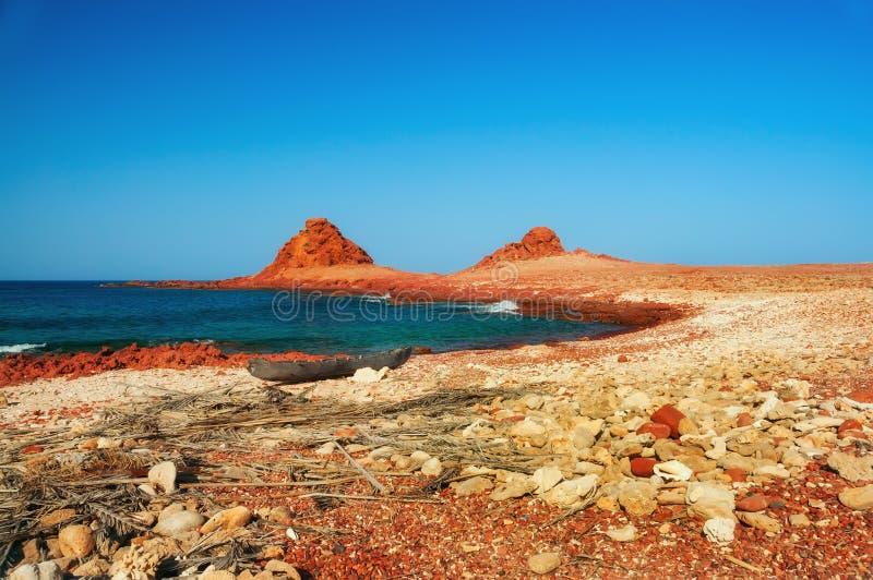 Costa de mar selvagem imagens de stock