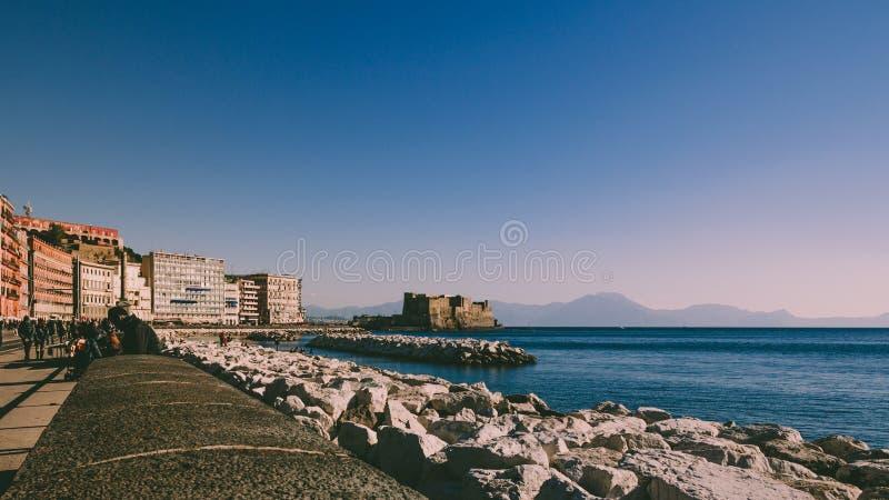 Costa de Nápoles imagen de archivo