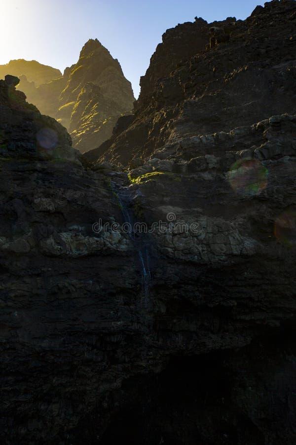 Costa de Napali foto de stock