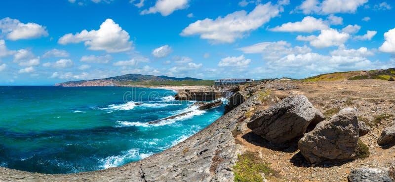 Costa de Oceano Atlântico em Portugal imagens de stock royalty free