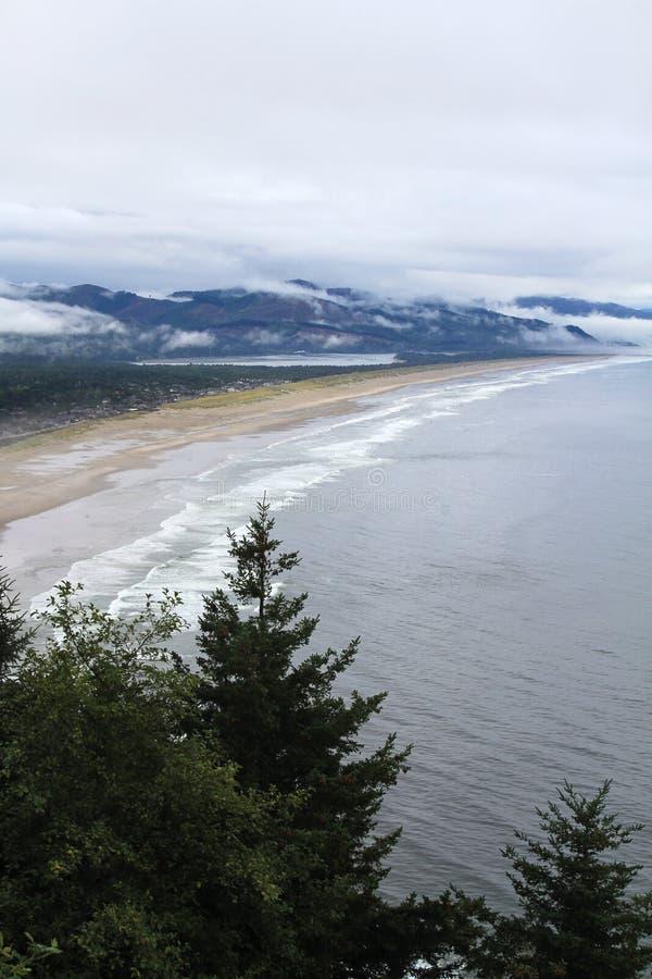 Costa costa de Oregon fotos de archivo libres de regalías