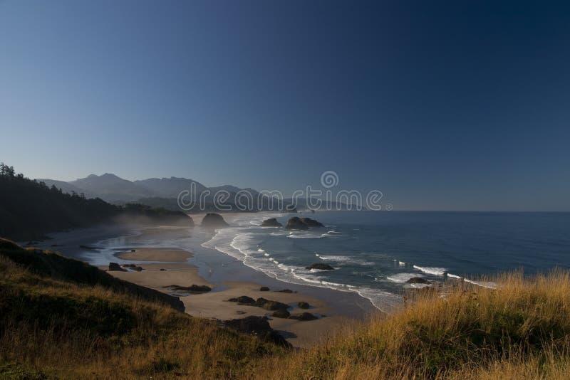 Costa de Oregon fotos de archivo