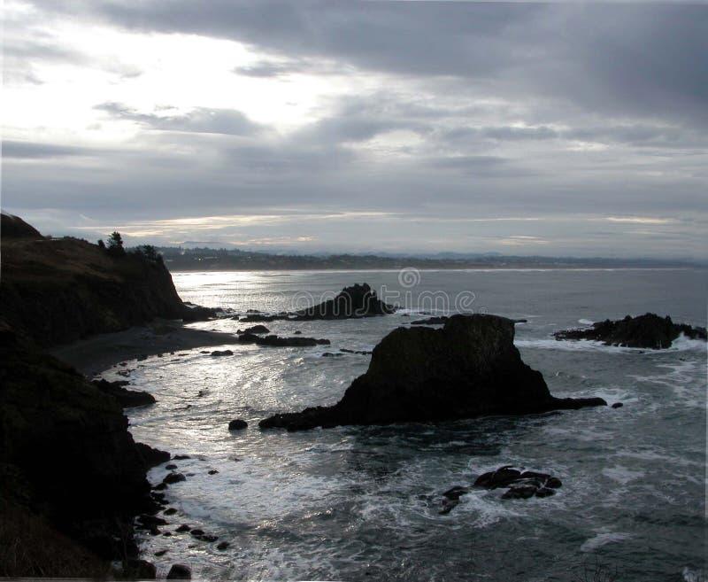Download Costa de Oregon imagen de archivo. Imagen de costa, océano - 175973