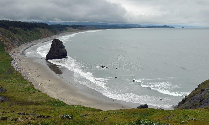 Costa de Oregon fotografía de archivo