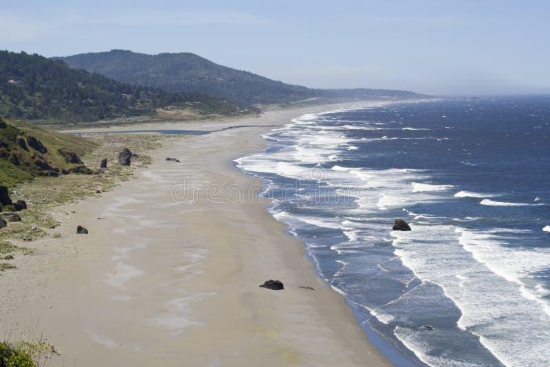 Costa de Oregon fotografia de stock