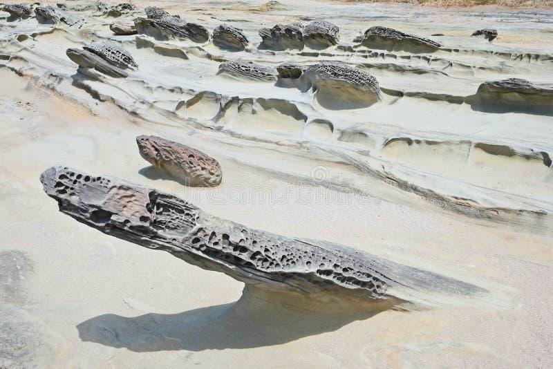 Costa de Oregon - formações de rocha imagem de stock royalty free
