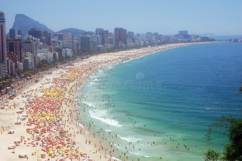 Costa de Rio de Janeiro imagen de archivo