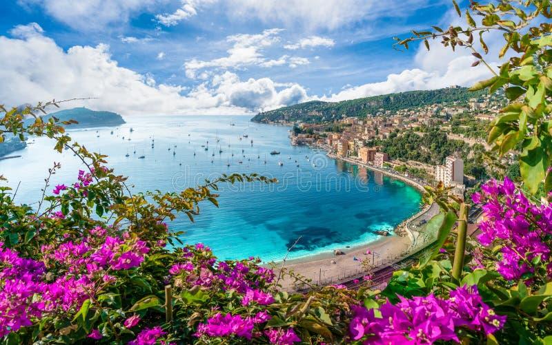 Costa de Riviera franc?s imagens de stock