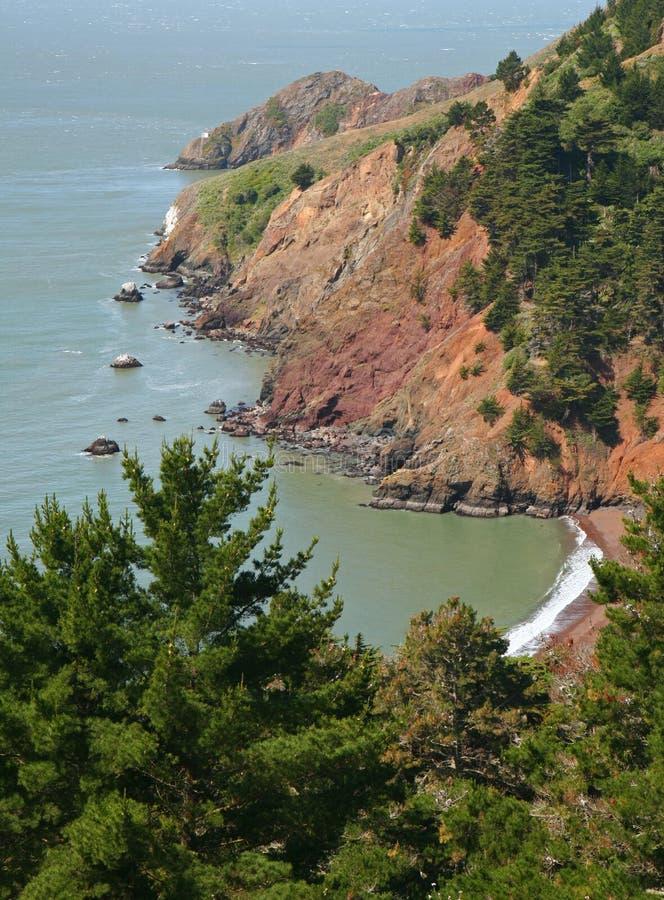 Costa de San Francisco fotografía de archivo