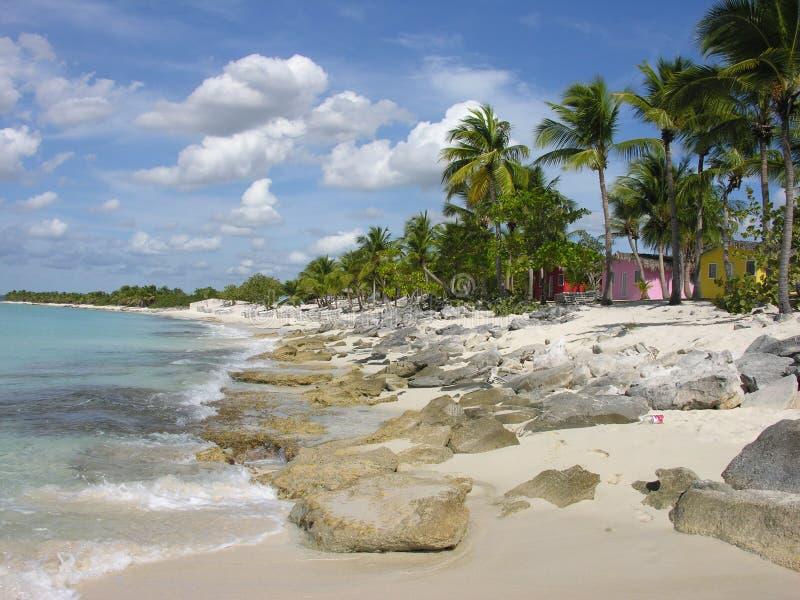 Costa de Santo Domingo fotografía de archivo libre de regalías