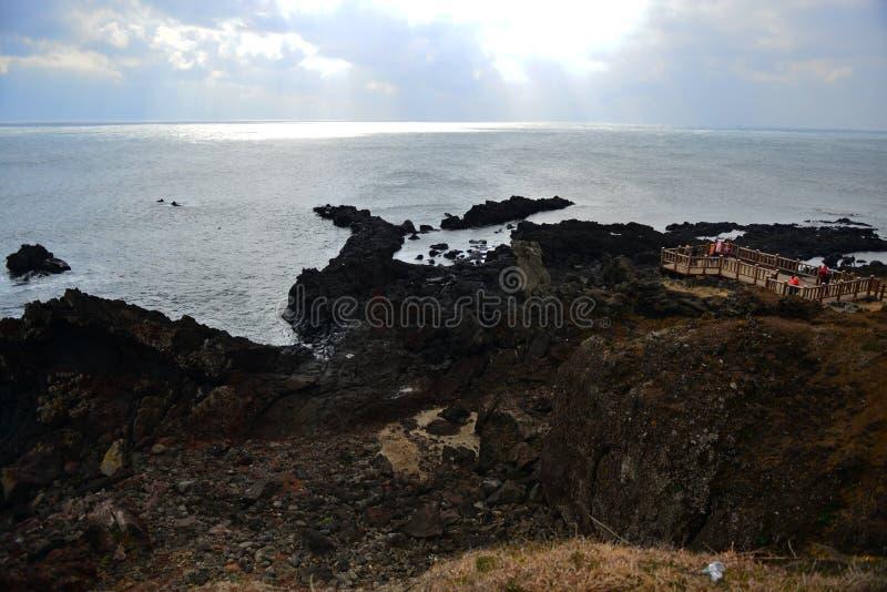 Costa de Seopjikopji foto de archivo