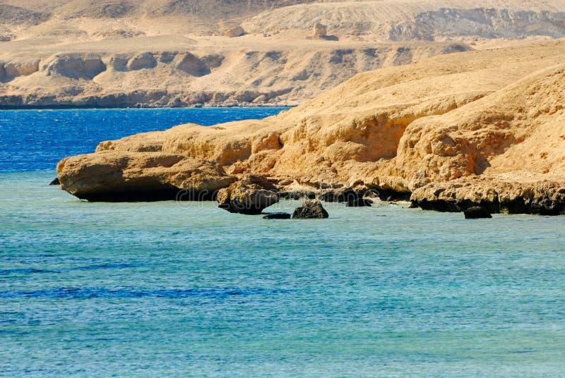 Costa de Sharm El Sheikh foto de stock royalty free