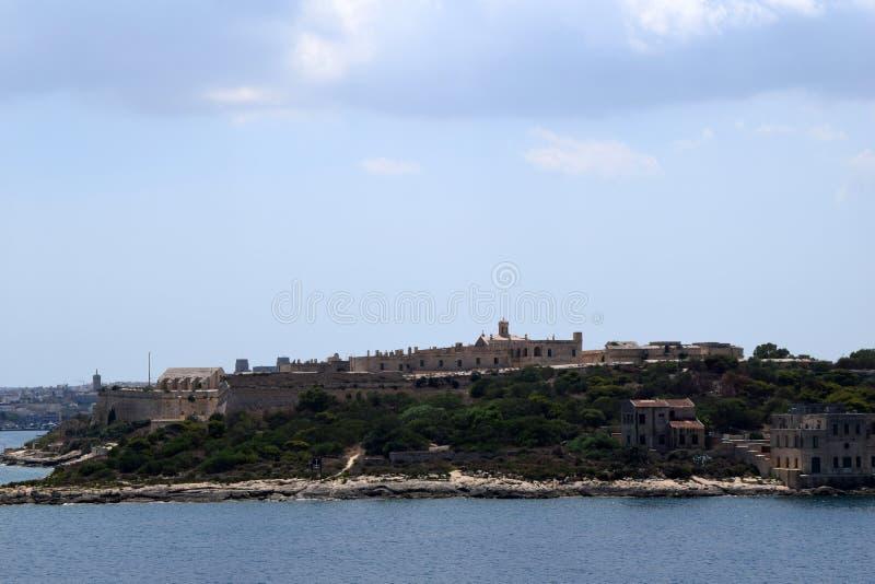 Costa de Sliema, Malta foto de archivo libre de regalías
