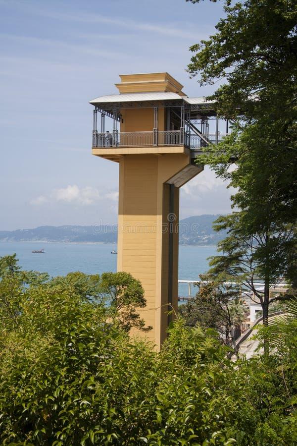 Costa de Sochi imágenes de archivo libres de regalías