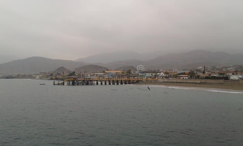 Costa de Taltal fotografia de stock royalty free