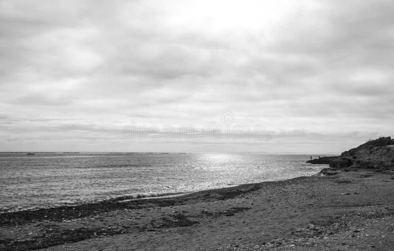 Costa de Tarragona localizado en España imagenes de archivo