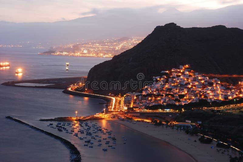 Costa de Tenerife fotografía de archivo libre de regalías