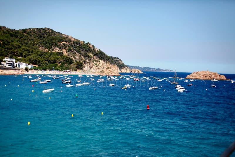 Costa de Tossa de Mar imagem de stock royalty free