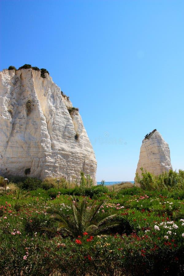 Costa de Vieste, Apulia, Italy imagem de stock royalty free
