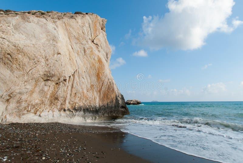 Costa del Cipro fotografia stock