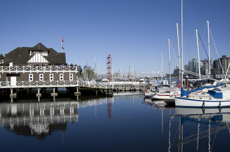Costa del club del barco del particular imágenes de archivo libres de regalías